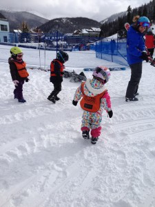 Learning to ski...